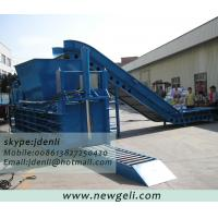 Quality PET bottle baling machine,plastic bottle compressing machine,waste plastic baling press for sale