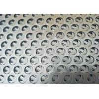 Quality OEM Cold Rolled Round Sheet Metal , Popular Round Steel Mesh  Large Open Area for sale