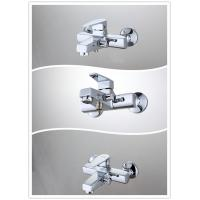 Quality Square Wall Mounted Single Handle Tub And Shower Faucet with Brass Body , HN-3B65 for sale