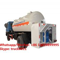 Quality HOT SALE! Customized dongfeng 4*2 LHD 10,000Liter lpg gas dispensing truck for domestic cylinders, lpg gas filling truck for sale