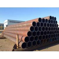 China API 5L X42 X 52 X 60 ERW Steel Pipe Straight Steel Oil / Gas Line Pipe 6 - 25mm Thick on sale