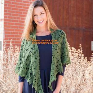 Quality Crochet Woman Poncho, Poncho, woman poncho, poncho wrap, Green Free Knitting Crochet Woman for sale