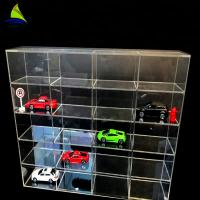 Quality Commercial Acrylic Wall Display Case Toy Car Acrylic Display Toys Showcase Wall Mount for sale