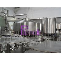 Quality Automatic Monoblock Pulp Juice Filler , Three In One Filling Machine for sale