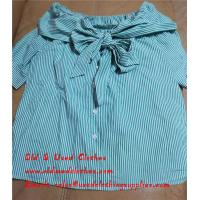 Quality Adults Used Womens Shirts Stretch Ladies Silk Skirt Secondhand Clothes for sale