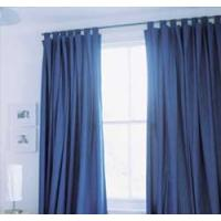 Quality green luxury hotel metallic window curtains, metallic cloth for sale