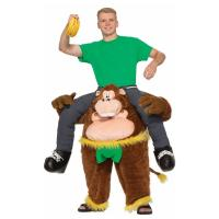Quality Brown Yellow Green Riding Animal Mascot Costumes Monkeying Around Costume for sale