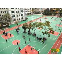 Quality Basketball Court PU Sports Flooring Volleyball Tennis Badminton Court for sale