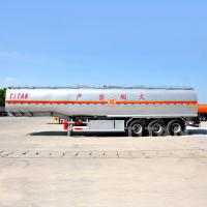 China TITAN Fuel Tank Trailer 42000/50000 Liter Oil Tanker Semi Trailer mike tank trailer on sale