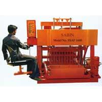Buy cheap QMR4-45 Diesel movable block making machine from wholesalers
