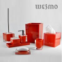 Quality 9 Piece Fashionable Polyresin Bathroom Set for Home for sale