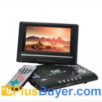 Buy cheap 7 Inch Swivel Screen Portable DVD Player (Remote, TV, Region Free) product