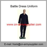 China Wholesale Cheap China Army Navy Blue Military BDU Battle Dress Uniform on sale