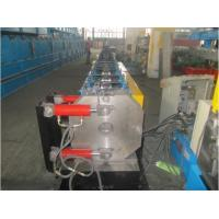 Quality Round Shape Stainless Steel Pipe Bending Machine , Gutter Roll Forming Machine PLC Control for sale