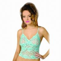 Quality Camisole/lingerie, customized designs are accepted  for sale