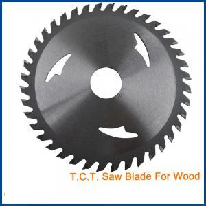 China Circular Wood Cutting TCT Saw Blade woodworking tct band saw blade CTB005N on sale