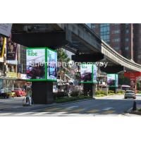 China Full Color Digital Outdoor Road LED Sign Board PH10 With Front Service , 160mm × 160mm on sale