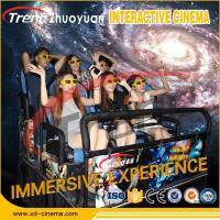 Quality 70 PCS 5D Movies + 7 PCS 7D Shooting Games Hydraulic System Mobile 5D Movie Theater With Virtual Reality Gaming Console for sale
