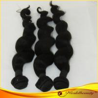 China Natural Color 100% Virgin Human Hair Extensions Body Wavy For Women on sale