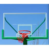Quality Outdoor Fully Tempered Glass Basketball Backboard With Impact Resistant for sale