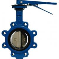 Quality Lug type API609 Butterfly valve Lever operator / for sale