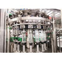 Quality Carbonated Aerated Water Glass Bottle Filling Machine For Carbonated Drink Production Line for sale