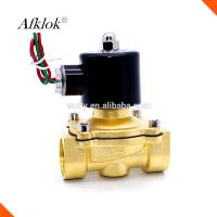 China 2 Way 2 Position DN25 1 Inch 2W-250-25 220 volt Water Solenoid Valve on sale