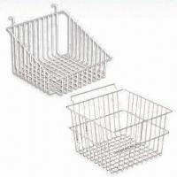 Quality Wire Basket for Grid Panel and Slatwall for sale