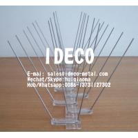 Quality 4 Rows of Pins Wide Stainless Steel Bird Spikes, Pigeon Defender, Bird Proof, Anti-Climb Spikes for sale