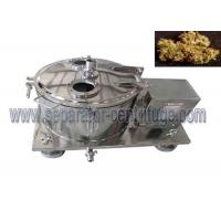 Quality Model PPTD Top Discharging Basket Centrifuge for Ground Plant Washing with Alcohol for sale