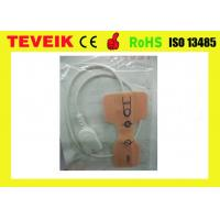 Buy cheap Nihon Kohden 9pin disposable spo2 sensor probe for Adult, medical spo2 cable for from wholesalers