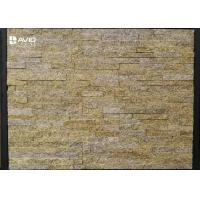 Quality Tiger Skin Yellow Natural Granite Cultured Stone Panels Weathering Resistance for sale