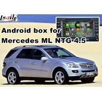 Quality Android os car navigation box video interface for Mercedes benz ML mirrorlink web video music play for sale