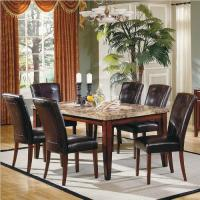 Quality TF-9114Rattan wicker Luxury Dining room set for sale