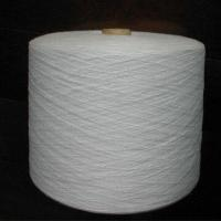 China Polyester Yarn in Raw White on sale