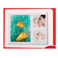 Buy Newborn Baby Handkerchief Clone Powder Baby Hand And Foot Ink 3D Souvenir Gift at wholesale prices