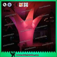 Quality 3M Events Decoration Lighting Inflatable Tree For Banquet Decoration for sale