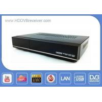 Buy cheap ALI3618 Combo DVB HD Receiver S2 / C / T2 Full HD Compact Size S2 T2 Cable Media Player product