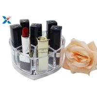 Quality Makeup Organizer Acrylic Box , Clear Acrylic Lipstick Organizer For Brushes / Skincare for sale