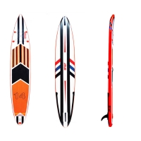 Quality Double Chamber & Layer 315x76x10cm EVA Surfboard for sale