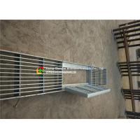 China House Drain Hot Dipped Galvanized Steel Grating 24 - 200mm Cross Bar Pitch on sale