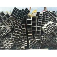 Quality Grade 201 304 316L Square Welded Stainless Steel Pipe ASTM JIS GB EN Standard for Structure for sale