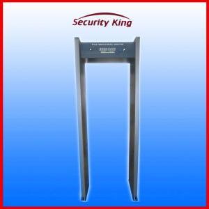 Airport Walk Through Metal Detector , Bright Light Alarm Metal Detection Systems