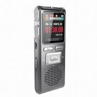 Quality New 1.44-inch LCD Screen Voice Recorder with Metal Cover and Taking Video Function for sale