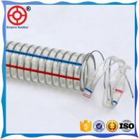 Quality HIGH PRESSURE SUCTION AND DISCHARGE FLEXIBLE COLD RESISTANT  PVC STEEL WIRE HOSE for sale