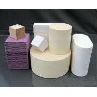 China Ceramic Honeycomb - Catalyst carrier, Air purification honeycomb ceramic on sale