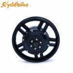 Quality Black 12 inch 36V 250W Electric Bike Hub Motor Brushless Geared Motor for sale