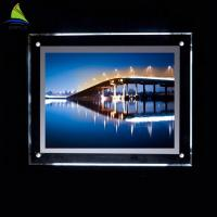 Quality Decorative Clear Acrylic Led Light Box 4x6 4x5 5x7 Acrylic Picture Frame for sale