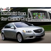 Buy Android 6.0 Car Navigation Box For Opel Vauxhall Insignia Buick Regal video interface at wholesale prices