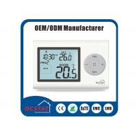 Quality Water Heating Boiler Controller Gas Heater Thermostat Digital Programmable White Backlight for sale